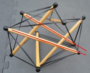tensegrity out of balance