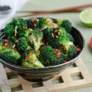 Broccoli lime & peppers